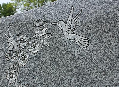 Details Weidner Memorials